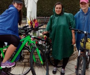 Biciklistice stigle u Međugorje