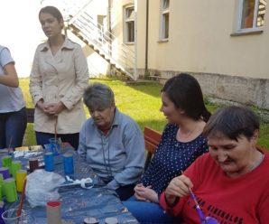 Kreativna radionica u Domu za psihički bolesne odrasle osobe u Petrinji