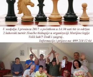 U nedjelju slijedi 2.šahovski turnir u organizaciji Marijine legije