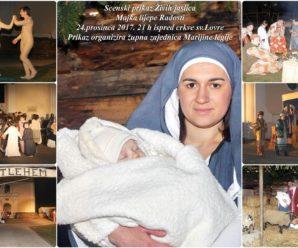 Najava: Žive jaslice 2017 – Majka lijepe radosti