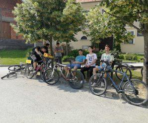 Legijska biciklijada, roštilj, druženje mladih legionara