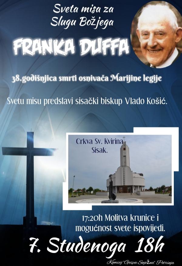 Misa za Franka duffa 2018