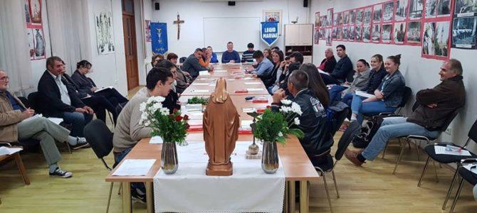"""Održan 108. sastanak komicija Marijine legije """"Gospa Snježna"""" Petrinja."""